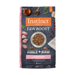 Nature's Variety Instinct Raw Boost Skin & Coat Health Grain-Free Recipe with Real Chicken Adult Dry Dog Food