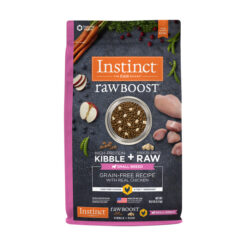 Nature's Variety Instinct Raw Boost Small Breed Grain-Free Recipe with Real Chicken Dry Dog Food