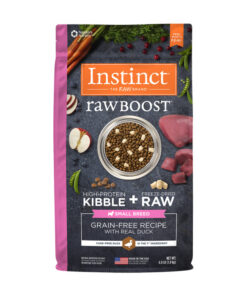 Nature's Variety Instinct Raw Boost Small Breed Grain-Free Recipe with Real Duck Dry Dog Food