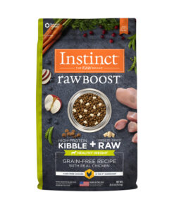 Nature's Variety Instinct Raw Boost Healthy Weight Grain-Free Chicken Recipe Dry Dog Food
