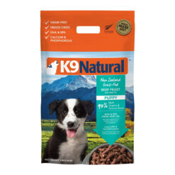 K9 Natural Grass Fed Beef Feast with Hoki Oil Grain-Free Puppy Freeze-Dried Dog Food