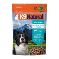 K9 Natural Hoki & Beef Grain-Free Freeze-Dried Dog Food