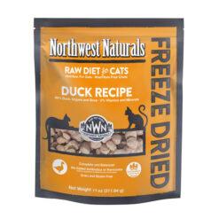 Northwest Naturals Freeze Dried Duck Cat Food