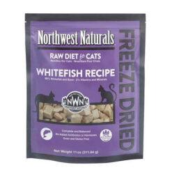 Northwest Naturals Freeze Dried Whitefish Cat Food