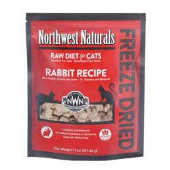 Northwest Naturals Freeze Dried Rabbit Cat Food