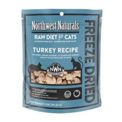 Northwest Naturals Freeze Dried Turkey Cat Food