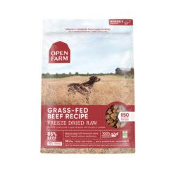 Open Farm Grain-Free Grass-Fed Beef Recipe Freeze Dried Raw Dog Food