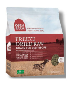 Open Farm Grain-Free Grass-Fed Beef Recipe Freeze Dried Raw Dog Food