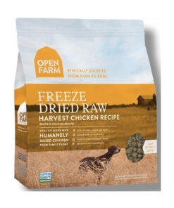 Open Farm Grain-Free Harvest Chicken Recipe Freeze Dried Raw Dog Food