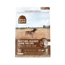 Open Farm Grain-Free Pasture-Raised Lamb Recipe Freeze Dried Raw Dog Food