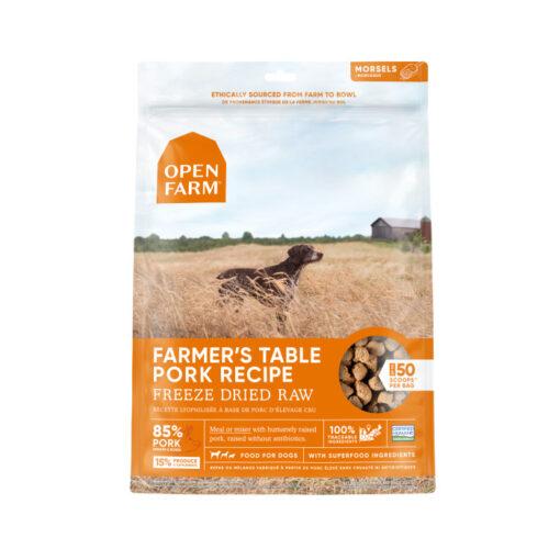 Open Farm Grain-Free Farmer's Table Pork Recipe Freeze Dried Raw Dog Food