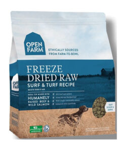 Open Farm Grain-Free Surf & Turf Recipe Freeze Dried Raw Dog Food