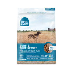 Open Farm Grain-Free Surf & Turf Recipe Freeze Dried Raw Dog Food