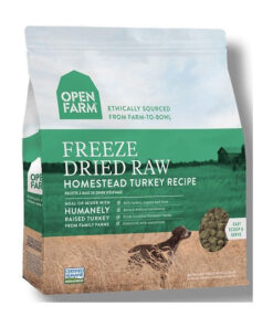 Open Farm Grain-Free Homestead Turkey Recipe Freeze Dried Raw Dog Food