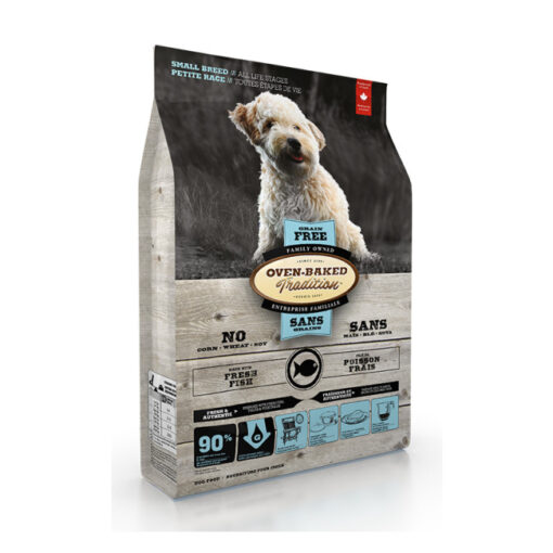 Oven-Baked Tradition Grain-Free Fish Formula Small Breed Dry Dog Food
