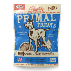 Primal Pork Liver Munchies Freeze-Dried Dog & Cat Treats
