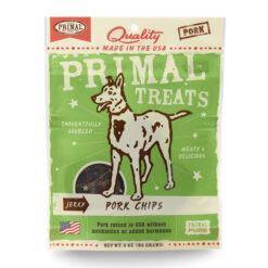 Primal Pork Chips Jerky Dog Treats