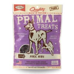 Primal Pork Nibs Jerky Dog & Cat Treats