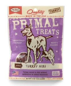 Primal Turkey Nibs Jerky Dog & Cat Treats