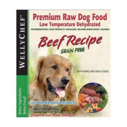 WellyTails WellyChef Beef Recipe Grain Free Dehydrated Raw Dog Food