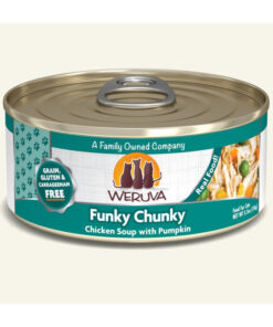 Weruva Funky Chunky Chicken Soup with Pumpkin Grain-Free Canned Cat Food