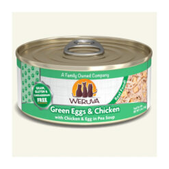 Weruva Green Eggs & Chicken with Chicken, Egg & Greens in Gravy Grain-Free Canned Cat Food