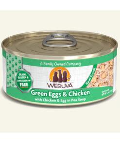 Weruva Green Eggs & Chicken with Chicken, Egg & Greens in Gravy Grain-Free Canned Cat Food