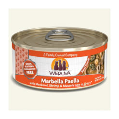 Weruva Marbella Paella with Mackerel, Shrimp & Mussels Grain-Free Canned Cat Food