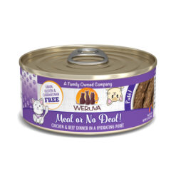 Weruva Pate Meal or No Deal Chicken & Beef Dinner Canned Cat Food
