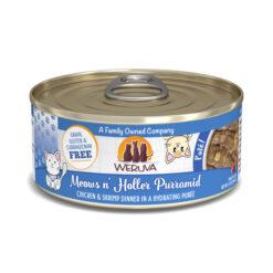 Weruva Pate Meows n' Holler PurrAmid Chicken & Shrimp Dinner Canned Cat Food