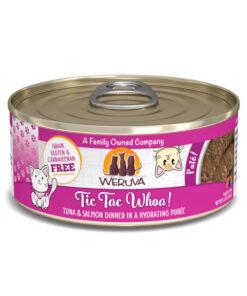 Weruva Pate Tic Tac Whoa! Tuna & Salmon Dinner Canned Cat Food