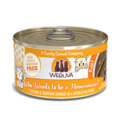 Weruva Pate Who wants to be a Meowionaire? Chicken & Pumpkin Dinner Canned Cat Food