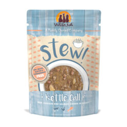 Weruva Kettle Call Beef, Chicken & Salmon Dinner in Gravy Stew Grain-Free Cat Food Pouches
