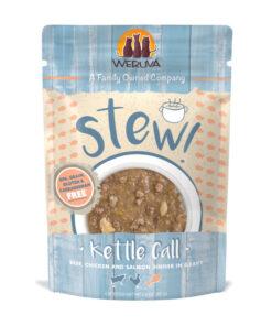 Weruva Kettle Call Beef, Chicken & Salmon Dinner in Gravy Stew Grain-Free Cat Food Pouches