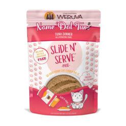 Weruva Slide N' Serve Name 'Dat Tuna Tuna Dinner Pate Grain-Free Cat Food Pouches