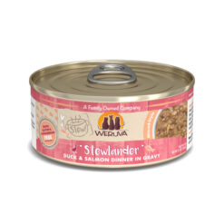 Weruva Stew Stewlander Duck & Salmon Dinner in Gravy Canned Cat Food