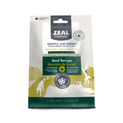 Zeal Canada Gently Air-Dried Beef Recipe Dog Food