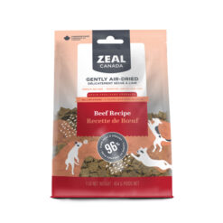 Zeal Canada Gently Air-Dried Grain Free Beef Recipe Dog Food