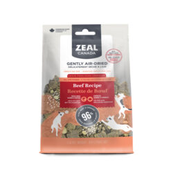 Zeal Canada Gently Air-Dried Grain Free Beef with Freeze-Dried Salmon & Pumpkin Dog Food