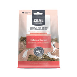 Zeal Canada Gently Air-Dried Grain Free Salmon Recipe Dog Food
