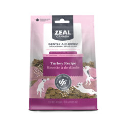Zeal Canada Gently Air-Dried Grain Free Turkey Recipe Dog Food