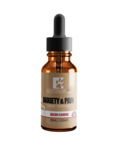 Apawthecary Pets Hemp infused Pet Oral Drops Bacon Flavour 30mL 120MG