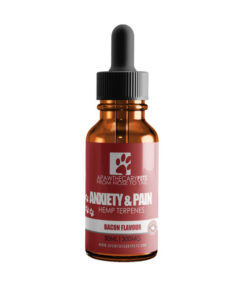 Apawthecary Pets Hemp infused Pet Oral Drops Bacon Flavour 30mL 300MG