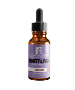 Apawthecary Pets Hemp infused Pet Oral Drops Unflavoured 30mL 120MG
