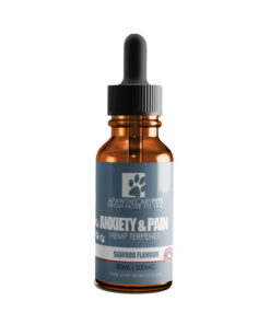 Apawthecary Pets Hemp infused Pet Oral Drops Seafood Flavour 30mL 300MG