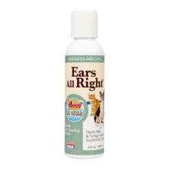Ark Naturals Ears All Right Dog & Cat Gentle Cleaning Lotion