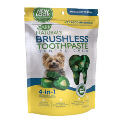 Ark Naturals Brushless Toothpaste Mini Dental Dog Chews