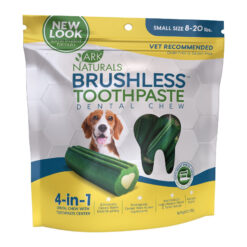 Ark Naturals Brushless Toothpaste Small Dental Dog Chews