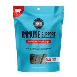 BIXBI Immune Support Beef Liver Jerky Recipe Dog Treats