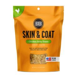 BIXBI Skin & Coat Chicken Jerky Dog Treats